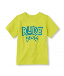 Childrens Place Lemon Boys Tee/Dude Prinr