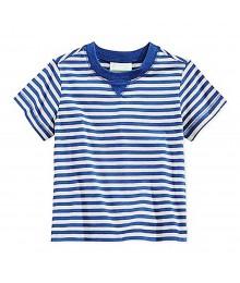 First Impressions Navy/Grey Stripes Boys Tees