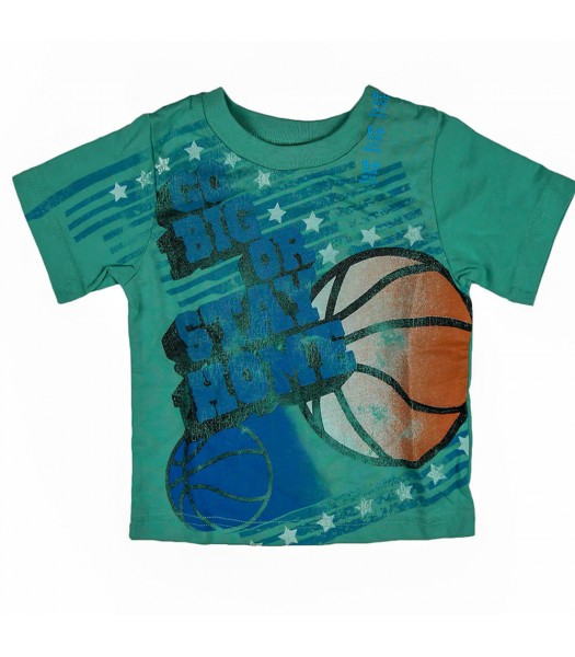 Childrens Place Go Big Graphic Tee