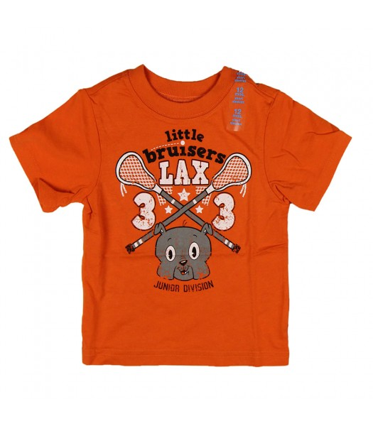 Childrens Place Little Bruisers Lax Graphic Tee