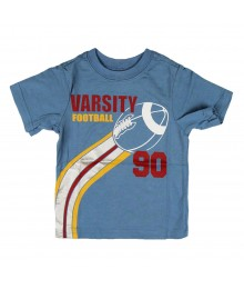 Childrens Place Boys Football Graphic - Blue Tee