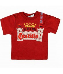 Childrens Place Boys Castillo Graphic - Red Tee