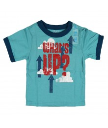 Childerens Place Whats Up Ringer Tee - Green