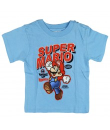 Childerens Place Super Mario Graphic Tee - Blue