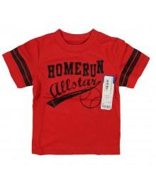 Okie Dokie Red Boys Tee - Home Run