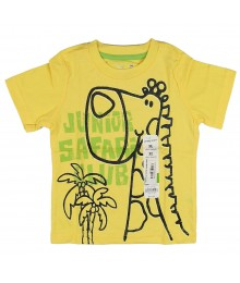Jumping Beans  Yellow Tee- Jnr Safari Club