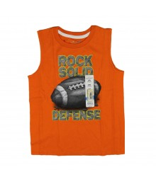 Jumping Beans Orange Ball Tee - Rock Solid
