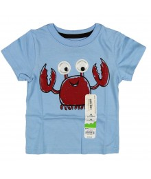 Jumping Beans Blue Googling Eye Crab Tee