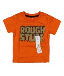 Jumping Beans Orange Tee - Rough Stuff Baby Boy