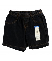 Okie Dokie  Black Wash Denim Shorts