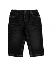 Arizona Black Straight Jeans