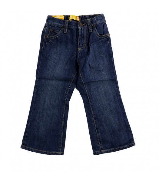 Old Navy Bootcut Boys Med Wash Jeans