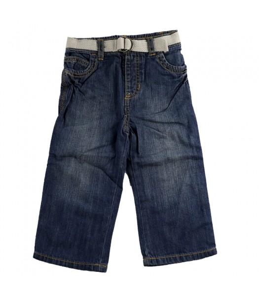 Old Navy Dark Denim Belted Jeans  Bottoms