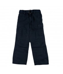 Sonoma Navy Belted Cargo Boys Trousers