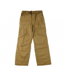 Sonoma Tan Belted Cargo Boys Trousers