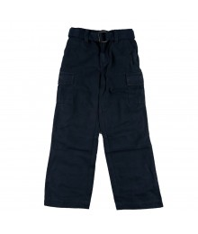 Sonoma Dark Gray Belted Cargo Boys Trousers Little Boy
