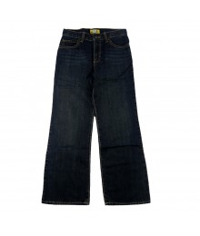 Old Navy Dark Wash Boys Bootcut Jeans  Big Boy