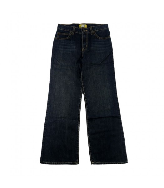 Old Navy Black Husky Bootcut Boys Jeans