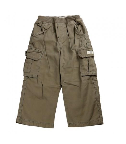 Childrensplace Light Khaki Cargo Trousers