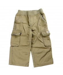 Childrens Place Khaki Cargo Trousers