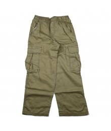 Childrens Place Olive Boys Cargo Trousers