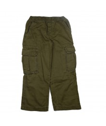 Childrens Place Dark Olive Boys Cargo Trousers