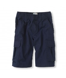 Childrens Place Navy Boys Cargo Shorts Little Boy