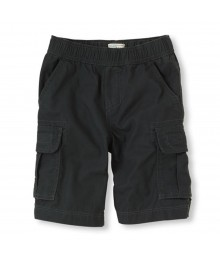 Childrens Place Dark Grey Boys Cargo Shorts Bottoms