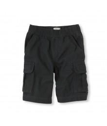 Childrens Place Dark Grey Boys Cargo Shorts