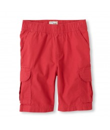 Childrens Place Red Boys Cargo Shorts