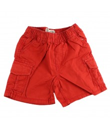 Childrens Place Red Boys Cargo Shorts  Bottoms