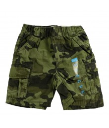 Childrens Place Green Carmo Boys Cargo Shorts