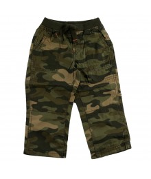 Carters Green Camo Pants