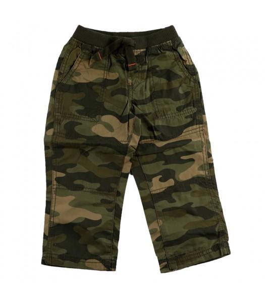 Carters Green Camo Pants