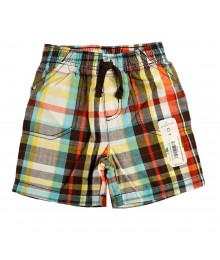 Jumping Beans Plaid Canvas Shorts