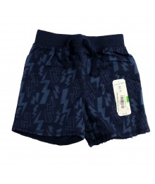 Jumping Beans Navy Lightning Bolt Shorts