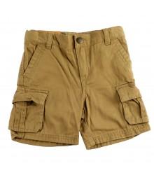 Cherokee Dark Tan Boys Cargo Shorts