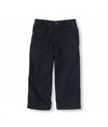 Childrens Place Navy Basic Chinos Trouser Bottoms