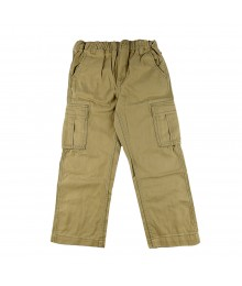 Oshkosh Tan Boys Cargo Trousers