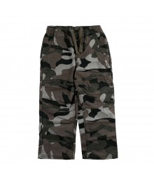 Oshkosh Grey Camo Boys Trousers Little Boy