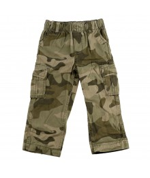 Oshkosh Green Camo Boys Trousers