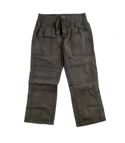 Carters Grey Boys Twill Trousers