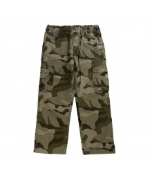 Oshkosh Green Camo Boys Cargo Trousers