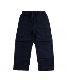 Oshkosh Navy Boys Twill Trousers Little Boy