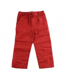 Childrens Place Red Boys Drawstring Trousers  Little Boy