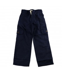 Carters Navy Pull-On Cargo Pants Bottoms
