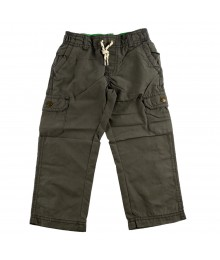 Carters Grey Pull-On Cargo Pants