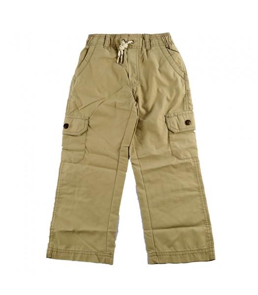 Carters Khaki Pull-On Cargo Pants