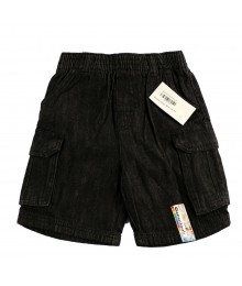 Garanimals Black Denim Cargo Boy Shorts
