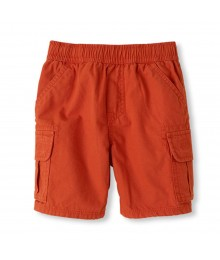 Childrens Place Orange Boys Cargo Shorts
